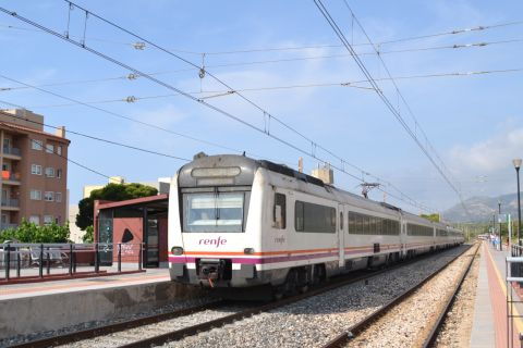 RENFE 448r sorozat, mediterrán korridor Hospitalet del Infante