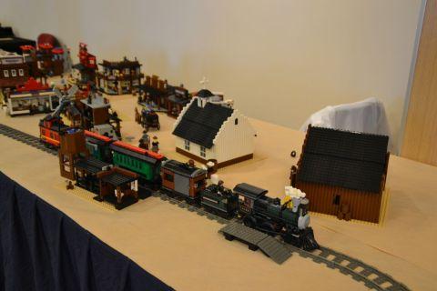 kecskemét, kockafeszt, lego, western, vonat