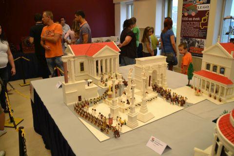 kecskemét, kockafeszt, lego, róma, forum romanum