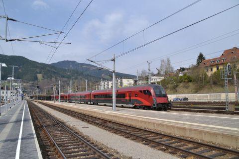 semmeringbahn, Mürzzuschlag, railjet