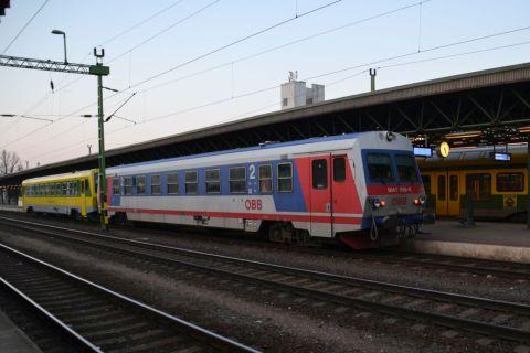 sopron állomás GySEV ÖBB 5047