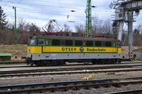sopron állomás GySEV V43