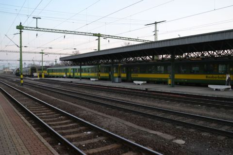 Schlieren kocsik sopron állomás GySEV
