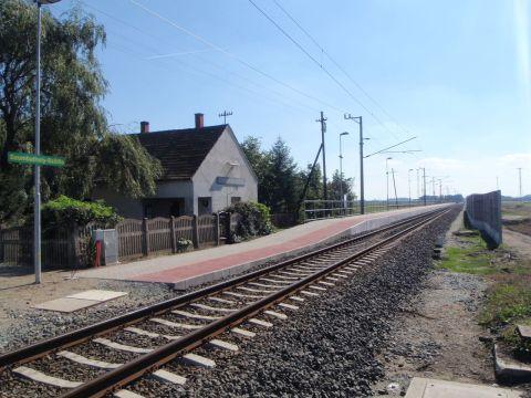 Szombathely–Szentgotthárd-vasútvonal az átépítés után GySEV