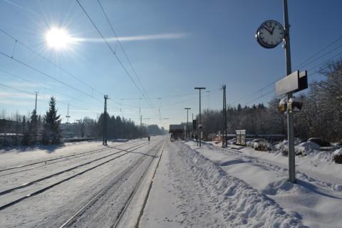 Planegg állomás december