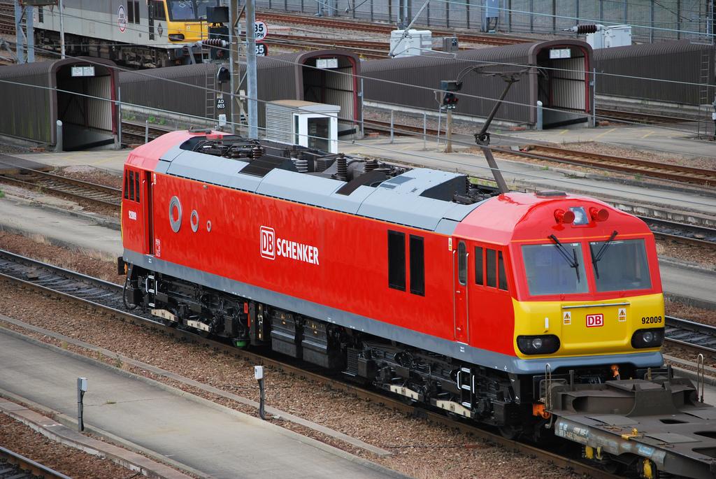 DB Schenker Rail UK, British Rail 92 sorozat