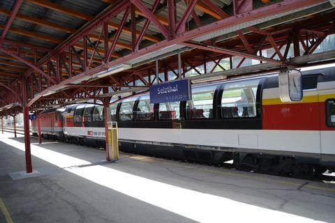 Ausztria, panorámakocsi, Züricz-Graz Eurocity, EC