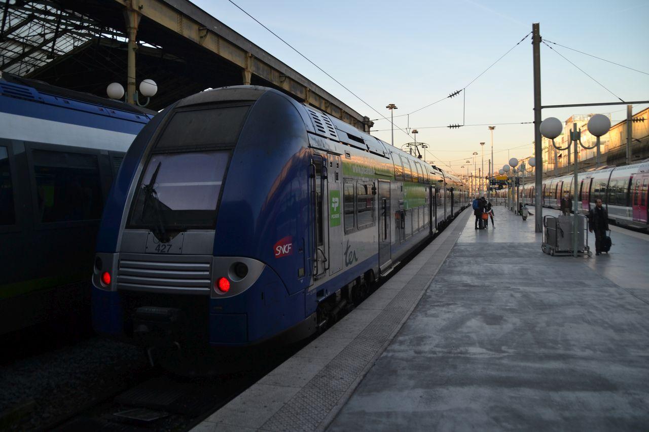 Gare du Nord, alstom coradia duplex
