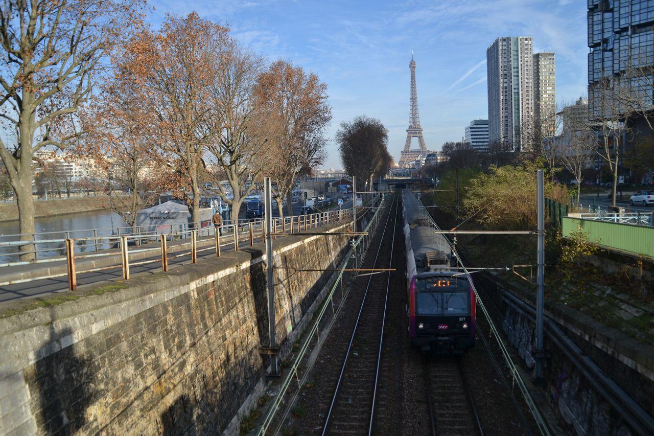 RER vonat, javel állomás
