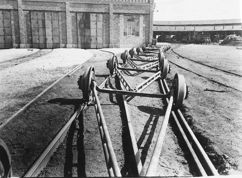 Talgo szerelvény futóműve 1941
