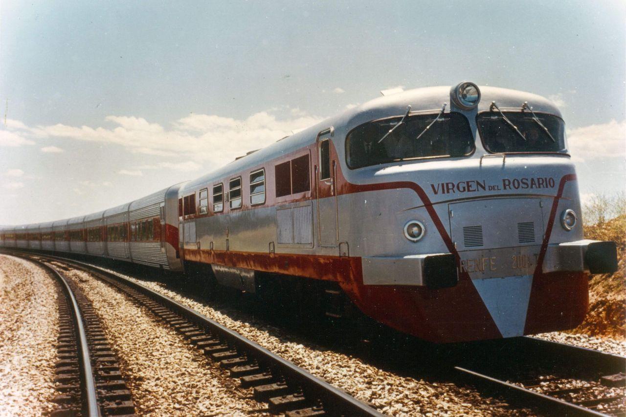 1964 Talgo vonat Spanyolországban