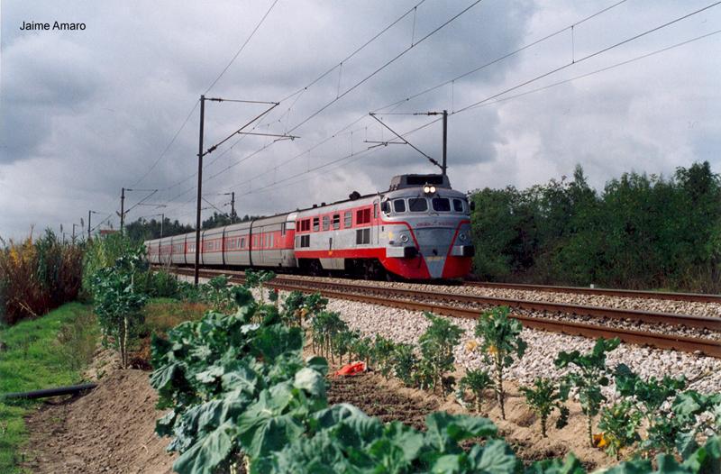 RENFE 2000 T sorozatú dízelmozdony, Talgo III szerelvény