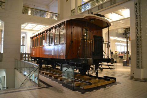 Technisches Museum Wien, Bécs, vasúti személykocsi