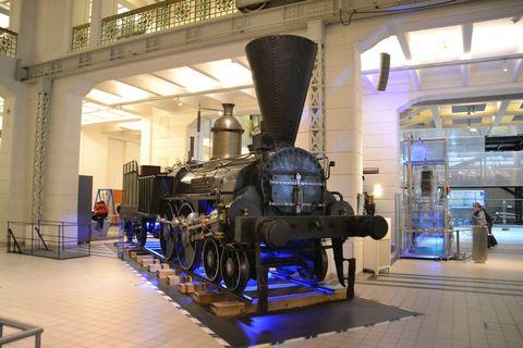Technisches Museum Wien, Bécs, gőzmozdony