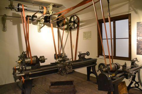 Technisches Museum Wien, Bécs, esztergagép