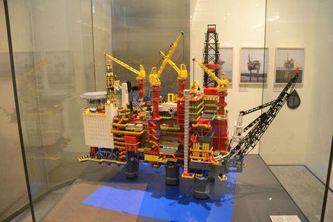 Technisches Museum Wien, Bécs, lego, olajfúró-torony