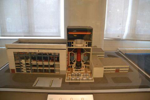 Technisches Museum Wien, Bécs, atomerőmű