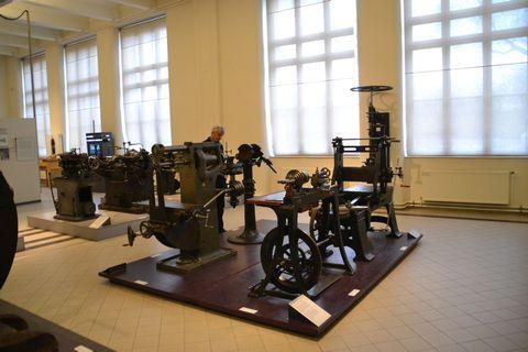 Technisches Museum Wien, esztergagép
