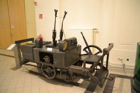 Technisches Museum Wien, Bécs, bányamozdony