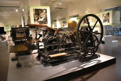 Technisches Museum Wien, Bécs, nyomdászat
