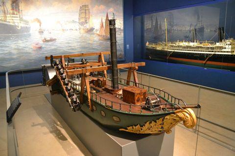 Technisches Museum Wien, Bécs, hajómodell