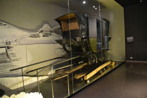 Technisches Museum Wien, Bécs, linzi lóvasút