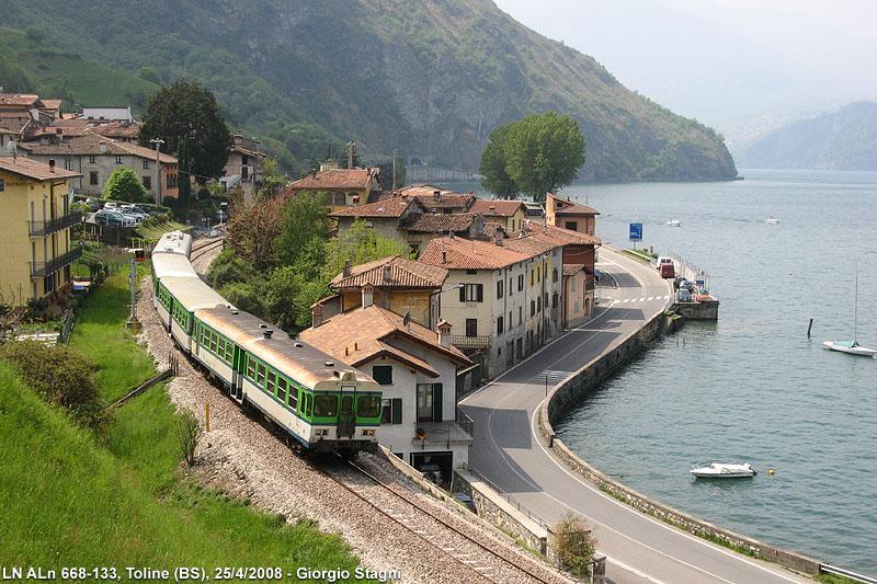 toline állomás, Brescia–Iseo–Edolo-vasútvonal
