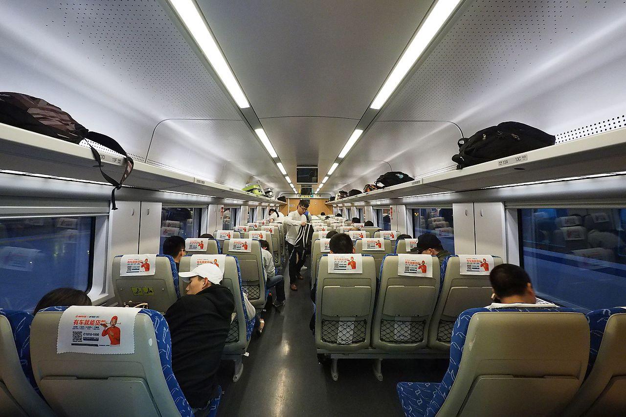 CRH1, Kína, nagysebességű vonat, éjszakai vonat, hálóvonat, ülőhelyes rész