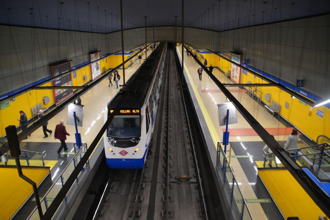 madrid, metró