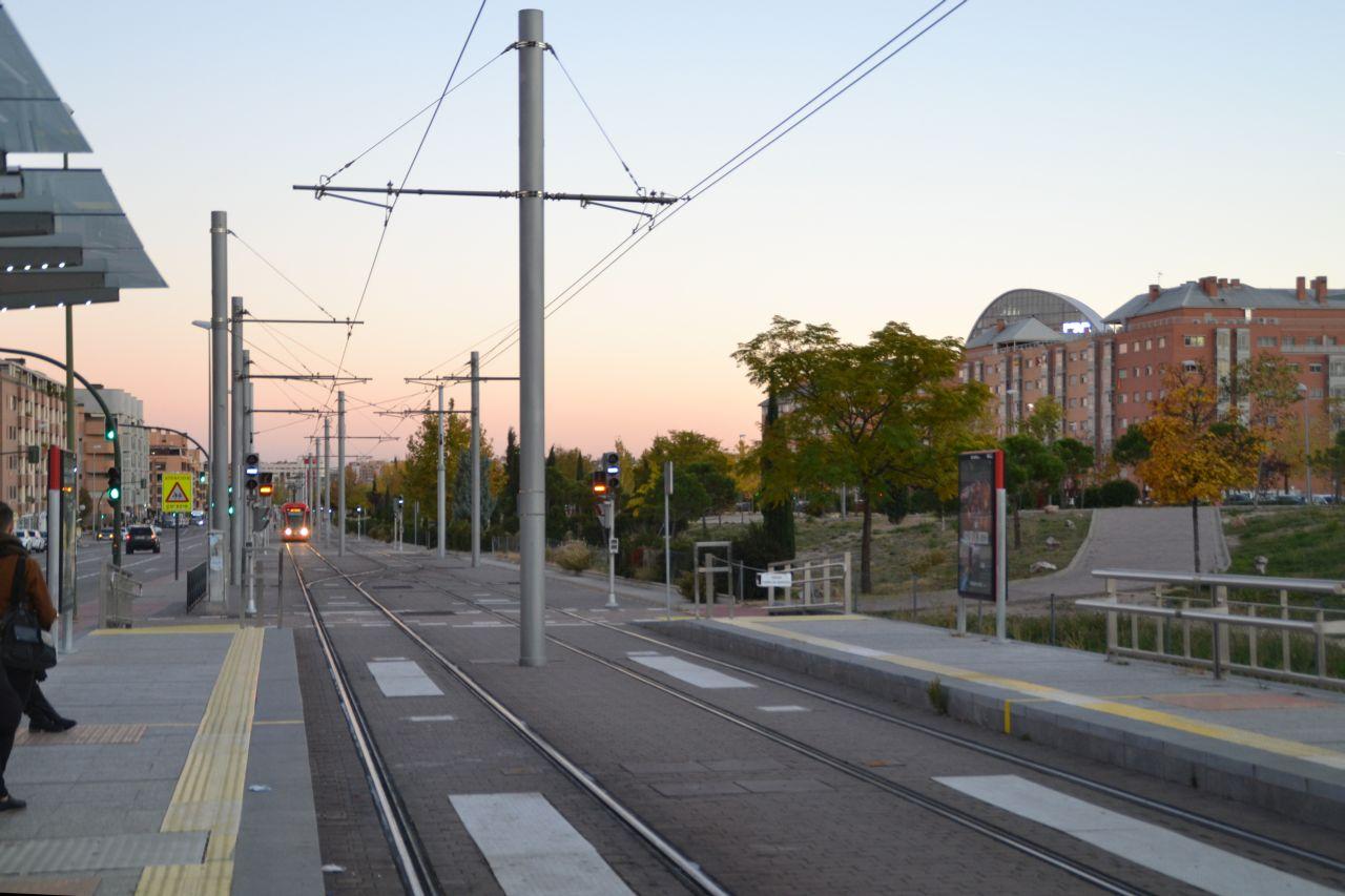 madrid, metro ligero