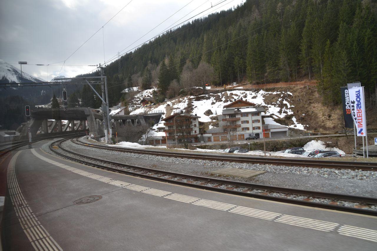 Klosters, svájc, Verenia-alagút