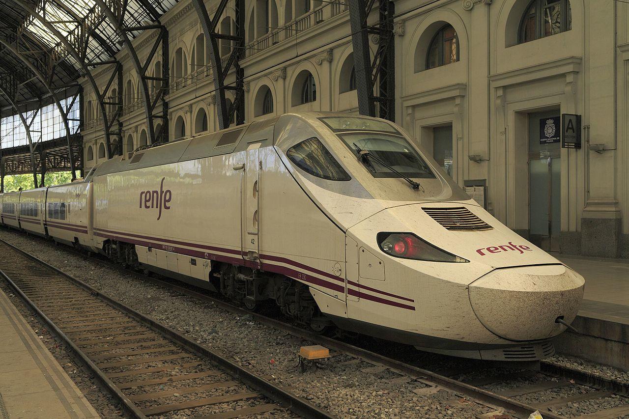 RENFE 130 sorozat Barcelona