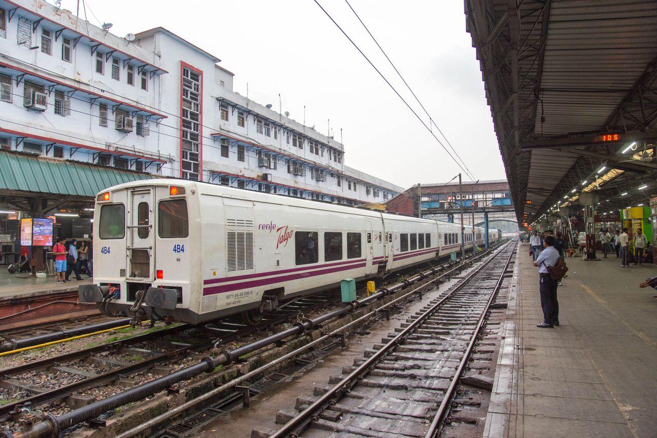 talgo, india, Mathura-Palwal-vasútvonal
