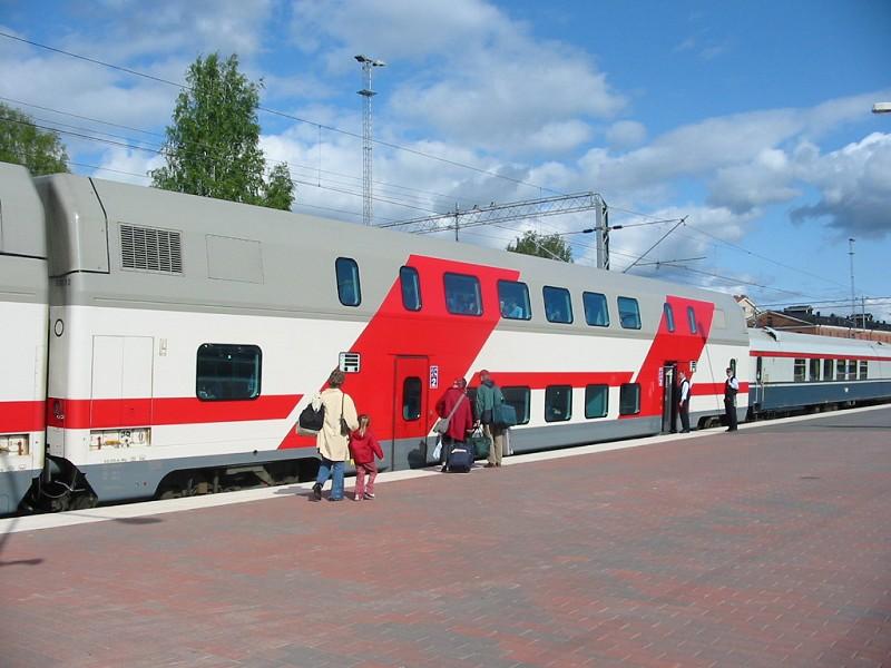 Talgo Oy, emeletes hálókocsi, finnország