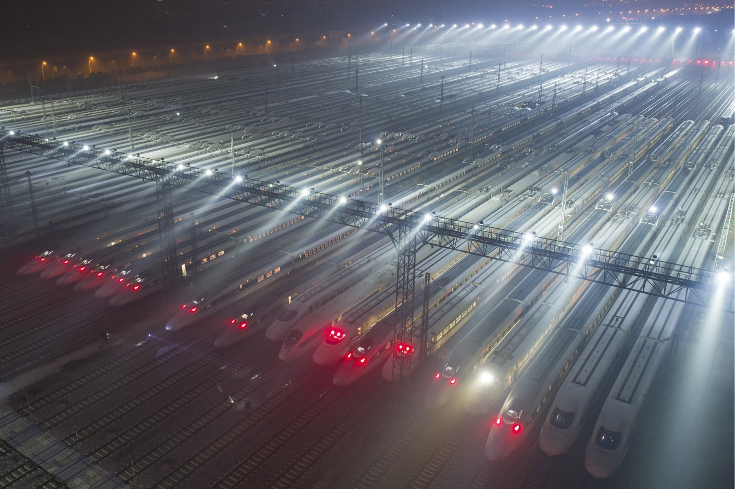 vuhan nagysebességű vasút, kína