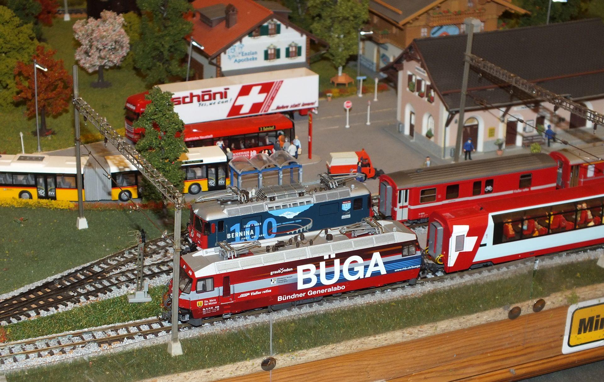 berninabahn, h0m, kecskemét, terepasztal kiállítás, hirös agóra, modellvasút