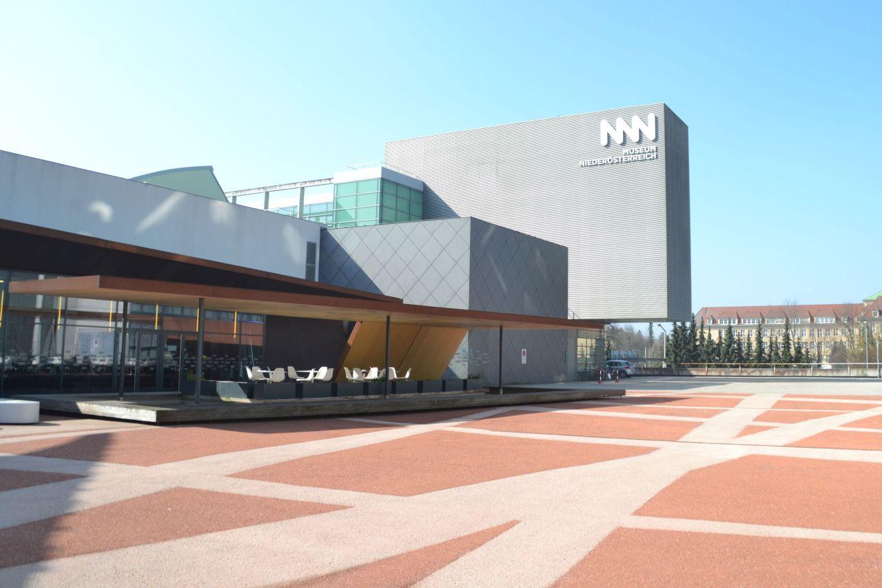 st. pölten, ausztria, természettudományi múzeum, főbejárat