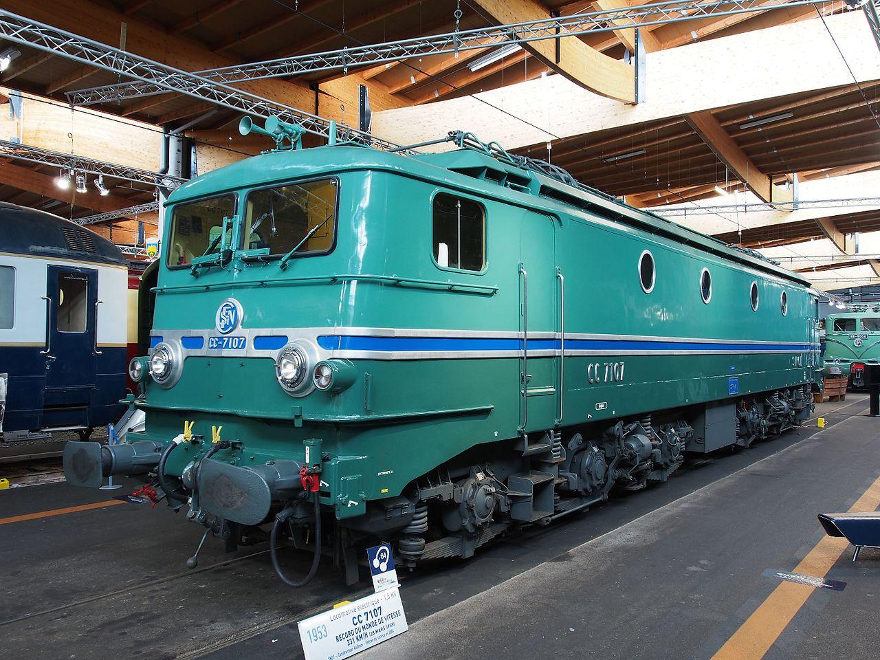 sncf cc 7107, cité du train