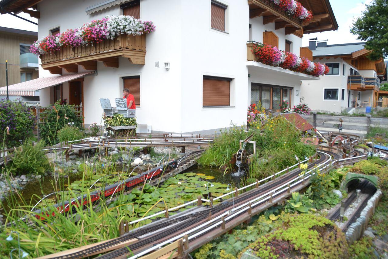 Ausztria, söll, kertivasút, LGB, G méretarány