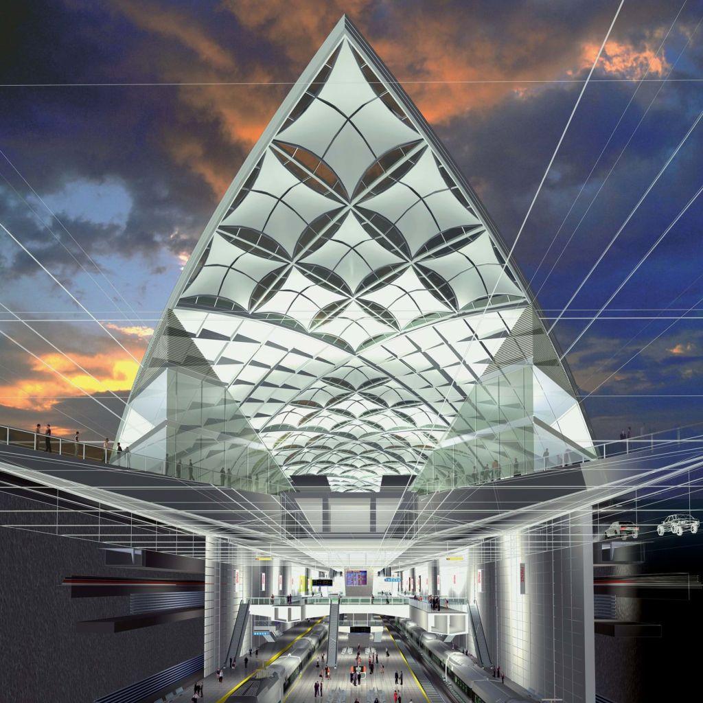 Firenze új vasútállomás Stazione di Firenze Belfiore