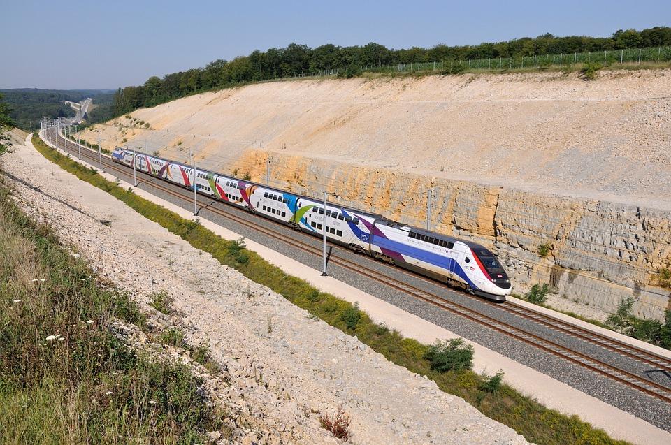 TGV duplex, Franciaország, Toulouse