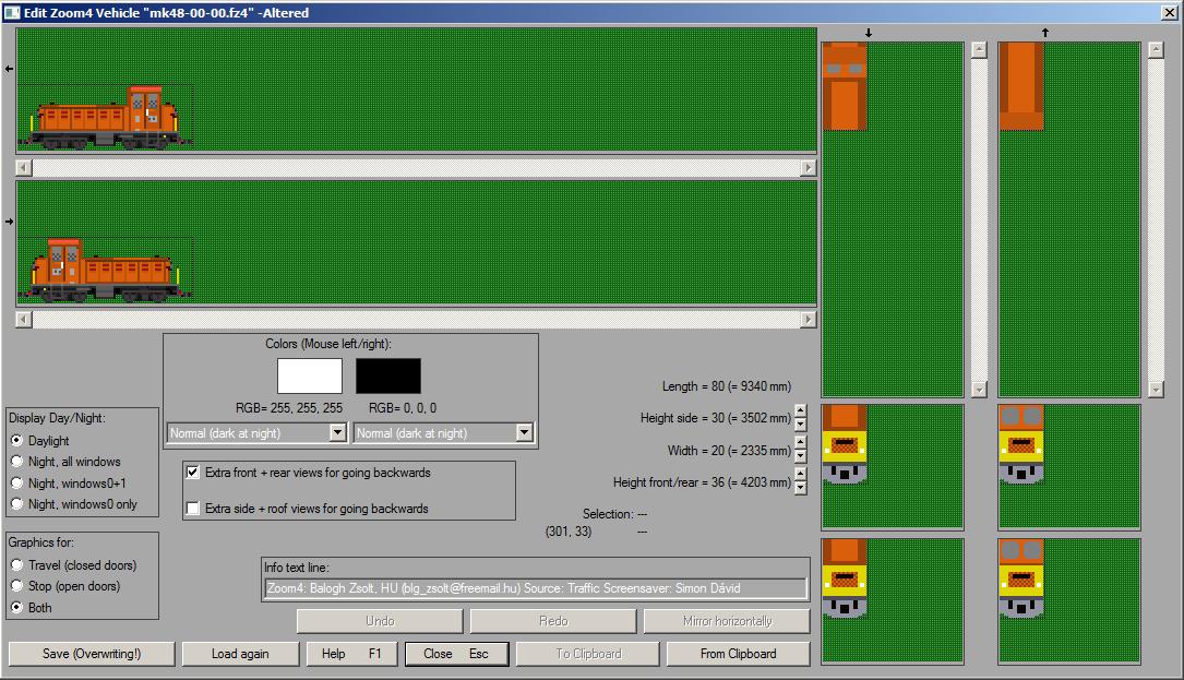 A zoom4 editor. Nem sok lehetőségünk van a rajzoláshoz