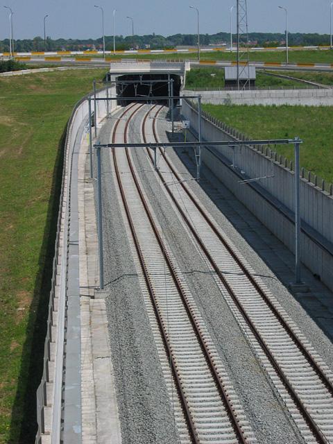 Belgium nagysebességű vasút