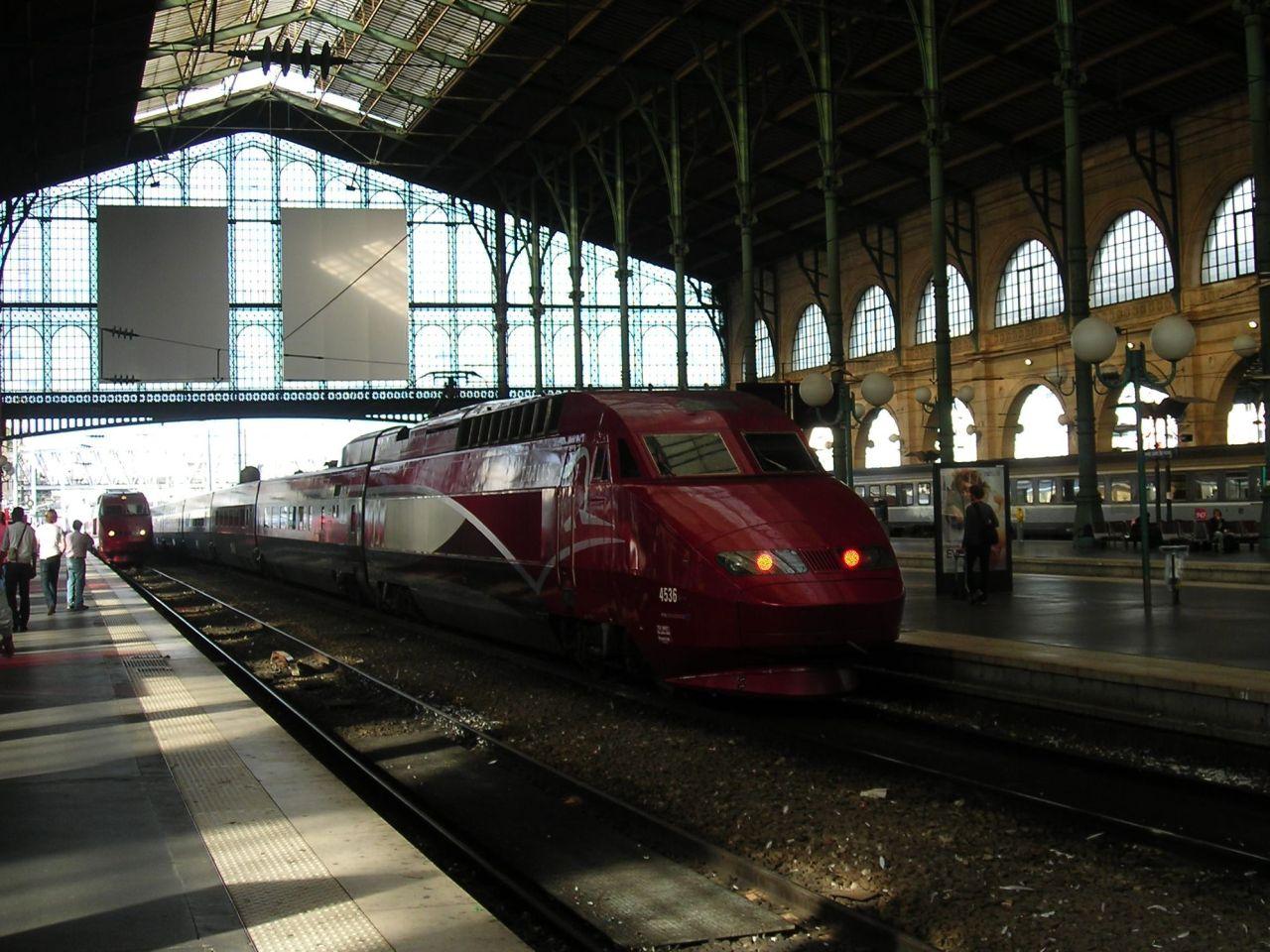 Thalys motorvonat Párizs