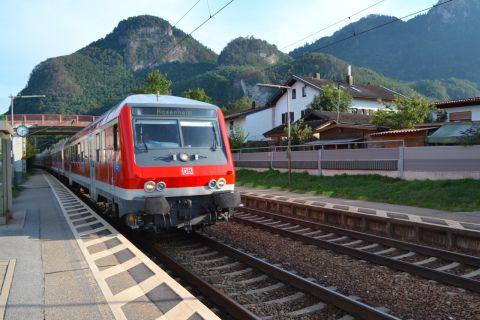 regionális vonat Deutsche Bahn