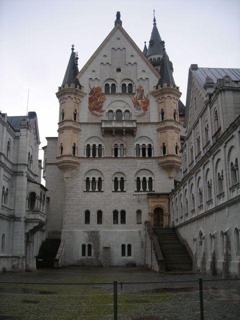 Neuschwanstein belső udvara