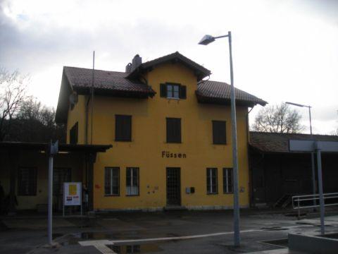füssen vasútállomás
