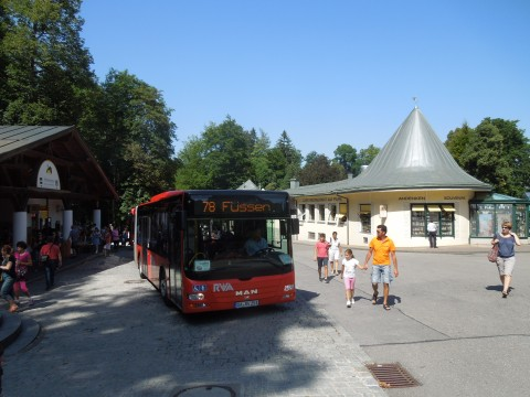 Az állomás bejárata