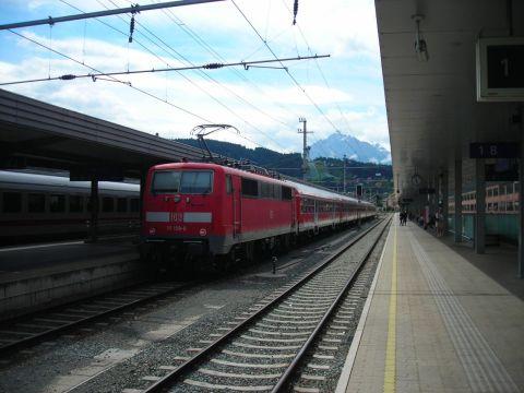 Innsbruck Hauptbahnhof DB 111