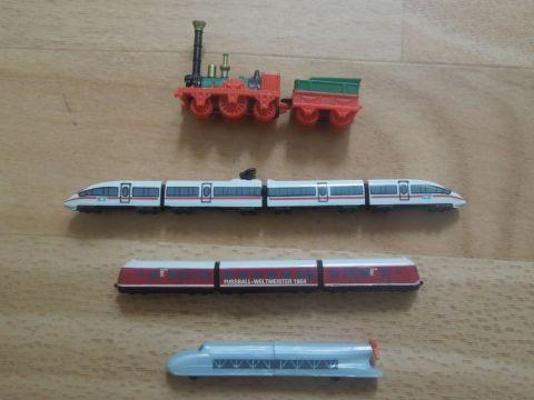 Kinder meglepetés limitált változat Adler, ICE3, VT 085, Sínzeppelin